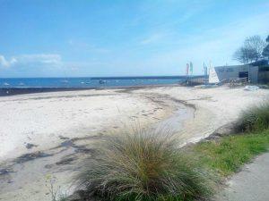 La plage de Sainte Evette