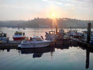 Les pontons de pêche