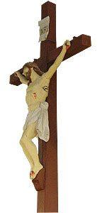 Christ en bois du XVIIIème siècle