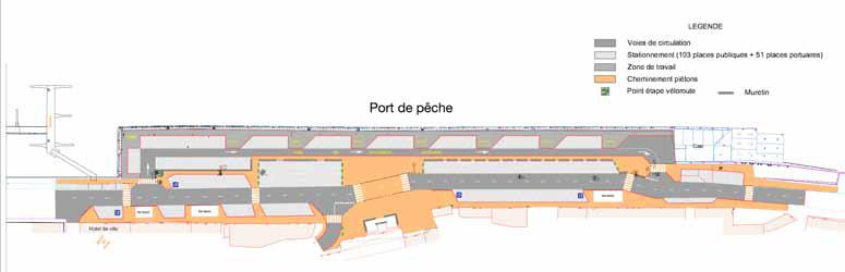 Plan du Port de Pêche Audierne