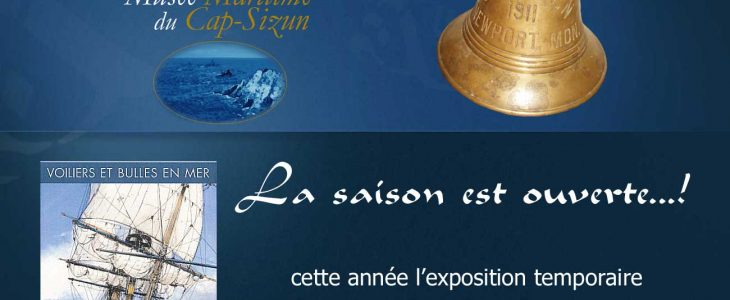Voiles et bulles en mer Musée Maritime du Cap-Sizun