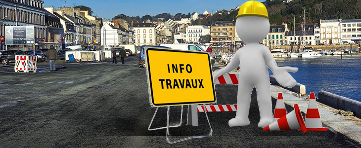 Travaux Quai Pelletan Audierne