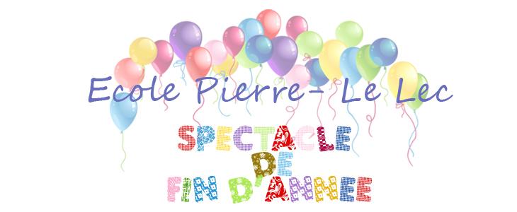 Spectacle de fin d'année à Pierre Le Lec Audierne