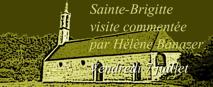 Visite commentée à la Chapelle Sainte-Brigitte Audierne