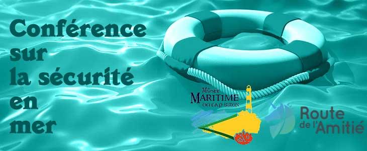 Conférence sécurité en mer Audierne