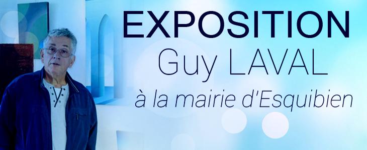 Exposition Guy Laval à la mairie d'Esquibien