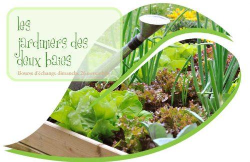 Jardiniers: bourse d'échange Esquibien Audierne