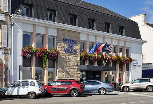 La mairie d'Audierne